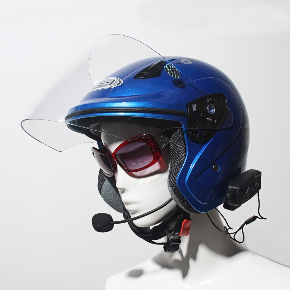 Cheapest Two Way Long Range Motorcycle Wireless Helmet Handsfree Intercom
