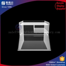High grade promotional store supermarket clear acrylic bulk food bin