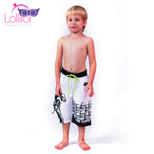 Comfortable printed swimming trunks wholesale shorts boy