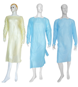 Wholesale high quality isolation gown disposable medical lab gown