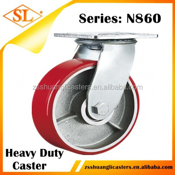 Heavy Duty Metal Barrow Caster Wheel Bracket