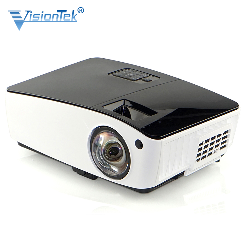 Amazon Best Selling 4000 Lumens Short Throw 360 Degree Fisheye Lens <strong>Projector</strong>