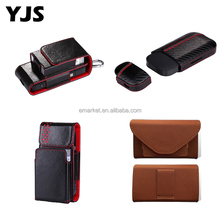 High Quality E-Cigarette Skin Protective Holder Cigar Cover Box Pocket Bag Carrying G2 G3 Plus Leather IQOS Case
