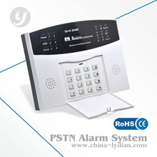 Low Price Wireless PSTN burglar alarm system, home alarms, alarm system LYD-112