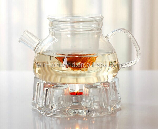 Fashionable Tableware Fancy Heat Resistant Glass Grace Tea Ware