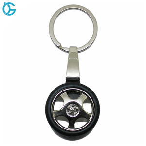 Custom Car Tire Leather Key Ring