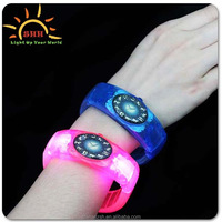 Magical light up Eco-friendly LED bracelet watch for party night