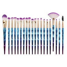 Nieuwe 20 stks make-up borstel sets verblinden diamanten oog borstel make-up beauty tool kit