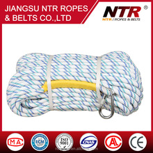NTR good selling fire safety rope nylon rope breaking strength