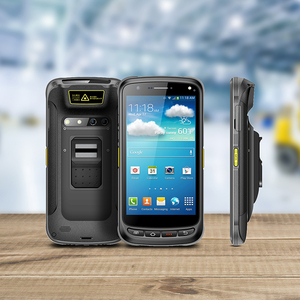 Waterproof Rugged 2D Barcode Scanner and NFC Reader Handheld Android PDA with Fingerprint