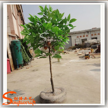 Artificial Cacao tree fake tree green cocoa tree for sale