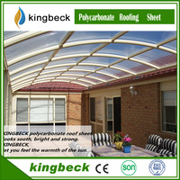 KingBeck High Quality Transparent Polycarbonate Sheet