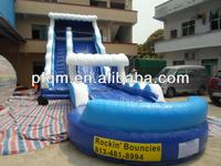 2015 HOT SALE CHEAP Kids games Used commercial Giant Inflatable Water Pool Slide for sale