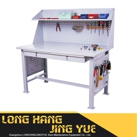 garage cabinets storage systems 20 pcs hook superior quality steel work bench Newest rolling work bench