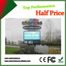 p8 p10 p16 full color outdoor electric led display advertising video billboard