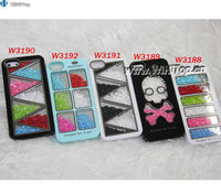 Swatchway Brand Make up Bling Bling Design Case for iPhone 5.Luxurious Diamond Case for iPhone 5