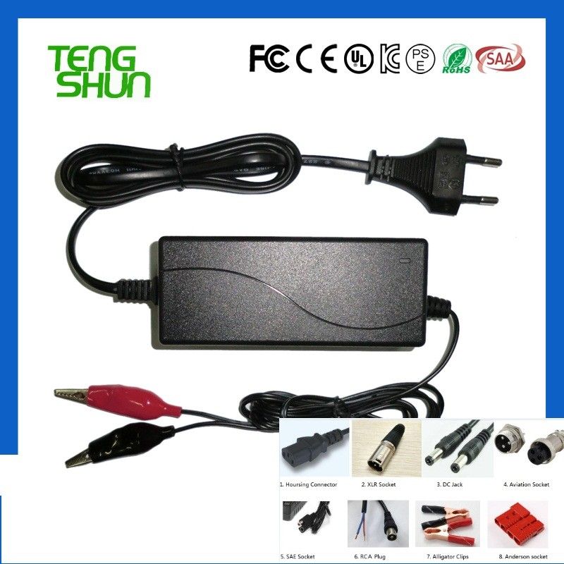 12v 2a 3a desktop automatic lead acid battery charger for 12v 10ah 12ah 20ah battery charger