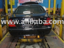 Repair Body Car bench in cage