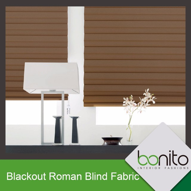 Full Blackout Fabric Shutter Honeycomb Window Shades Blinds