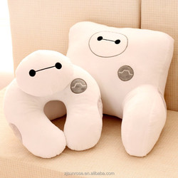 wholesale bighero6 Baymax pillow lumbar pillow neck pillow