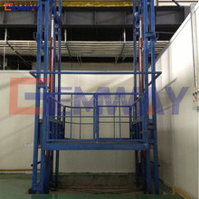 Warehouse hydraulic cargo elevator lift equipment