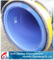 used for water inside FBE coating and outside 3PE coating with Flange connected