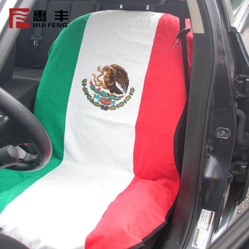 Factory Wholesale flag Car Seat Cover 90 Polyester & 10 Spandex