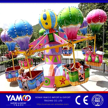 Interesting amusement games machine fun park rides samba balloon/ playground equipment for family