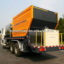 ZQZ5250TFC Asphalt Synchronous right hand Chip Sealer,Distribute Bitumen for road construction