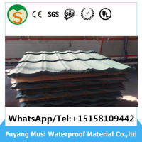 Roof tile golden supplier high quality sand coated metal roofing tiles