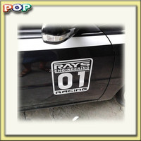 Pop 2015 Car PVC sticker car sticker design