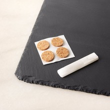 Restaurant supplies Slate dinner plate /mini cheese board/Slate cheese board wholesale