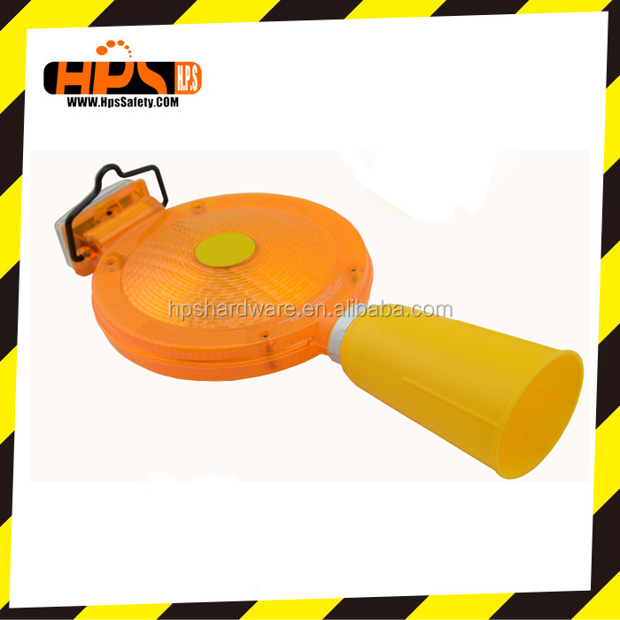 Portable Solar Traffic led Warning Light solar barricade led warning light For Barrier In Construct Work Zone