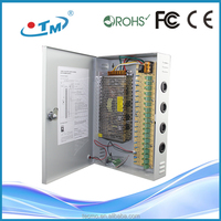 Efficient logistic service 12v adjustable cctv power supply unit