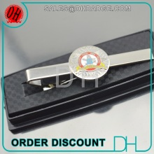 Cheap High Quality custom your logo Tie Cilp Gift Box Tie Bar case