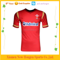 Red color rugby jersey/rugby wear/rugby uniform/rugby shirts