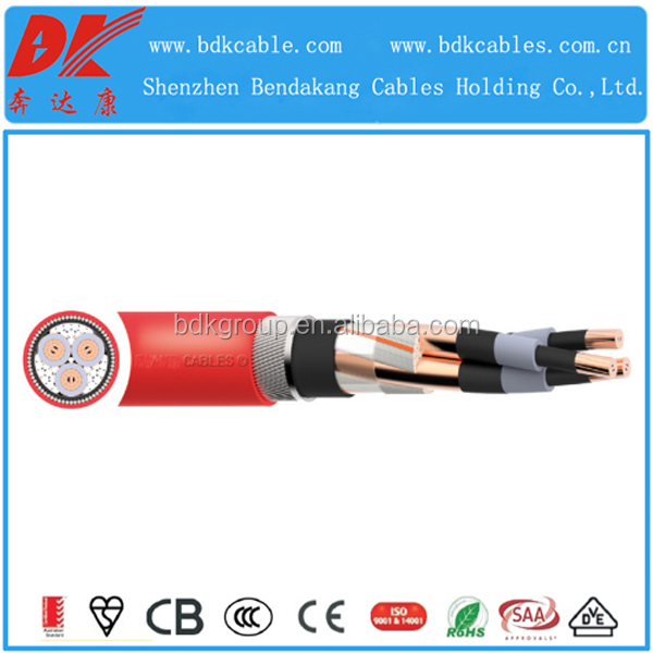 BS 6622 XLPE PVC 6.35/11 (12)kV MV Cable