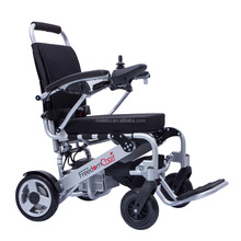Aluminum lightweight foldable electric wheelchair for disabled