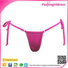 Top Sexy Rose Red Lacing G-string Women Hot Micro Bikini