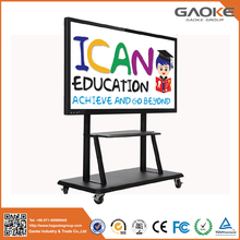 Gaoke FHD LED Touch Screen Monitor 10 Users Multi Touch Infrared Interactive Whiteboard Smart digital Board for school