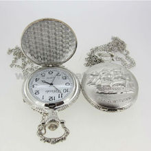 2013 fashion alloy PNP watch chain pocket clock