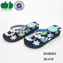 decorative wholesale custom eva women nude beach flip flops