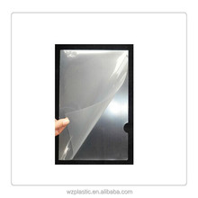 Custom A4 plastic clear file folder for student