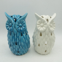 Wholesale cheap decoration owl animal garden statues eagle