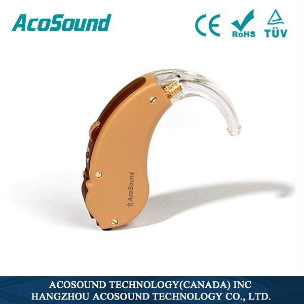 alibaba Best Sale High Quality Manufacture Standard Amplifier China CE AcoSound Acomate 210 BTE Digital Mini Hearing Amplifier