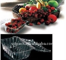 clamshell fruit tray