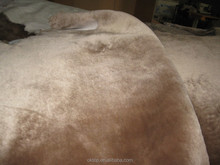 faux sheepskin lining for shoes and garment