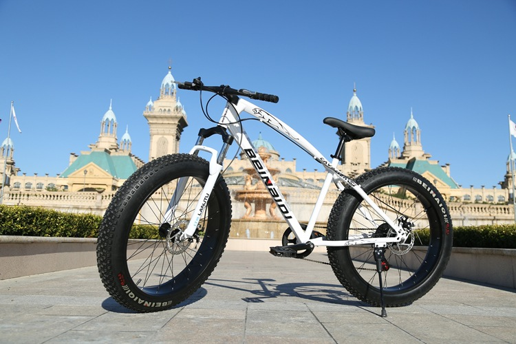 Hot sale super strong shock absorbing fat tire bicycle <strong>bike</strong> snow mountain <strong>bike</strong> beach <strong>bike</strong>