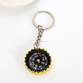 Wholesale Metal Type Creative Compass key holder