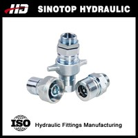 carbon steel stainless steel hydraulic quick release coupling